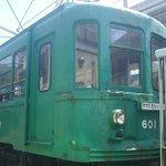 宮の坂駅の旧玉電車両.jpg